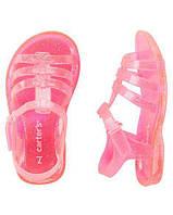 Сандалии jelly силиконовые для девочек Carters