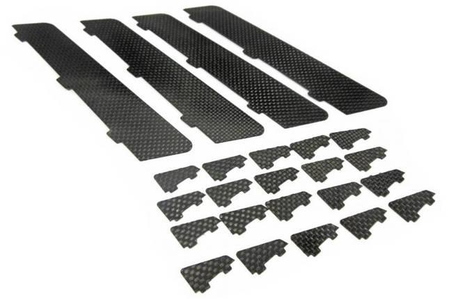Завихрители PA XR-52 карбоновые комплект 20шт, фото 2