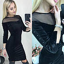 Платье Велюр, фото 2