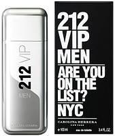 Carolina Herrera 212 VIP Men туалетная вода 100 ml. (Каролина Херера 212 Вип Мэн)