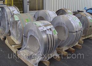 Нержавеющая  стальная лента ( пр-ва Германия ) 0,2мм*400мм материал: 1,4310 (AISI 301, 12Х18Н9 ) нагартовка