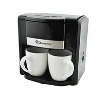 Капельная кофеварка DOMOTEC MS-0708 c керамическими чашками