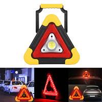 Аварийка Автономный прожектор HB-6609 LED STOP АКБ Power Bank солнечная батарея, фонарь в автомобиль, Новинка