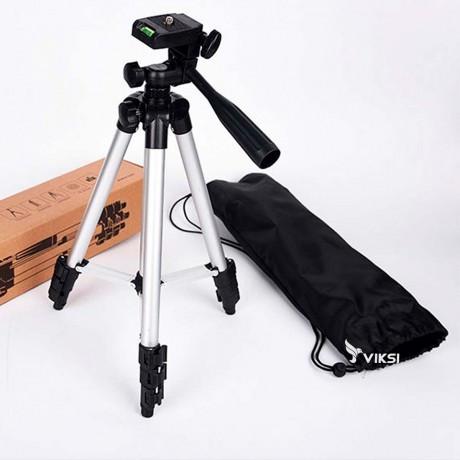 Штатив для камеры и телефона 3110А трипод, тренога, фото 1