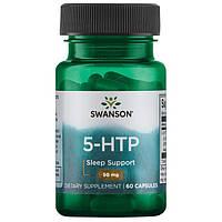 5-HTP, для Повышения Настроения и Контроля над Аппетитом , 50 мг 60 капсул