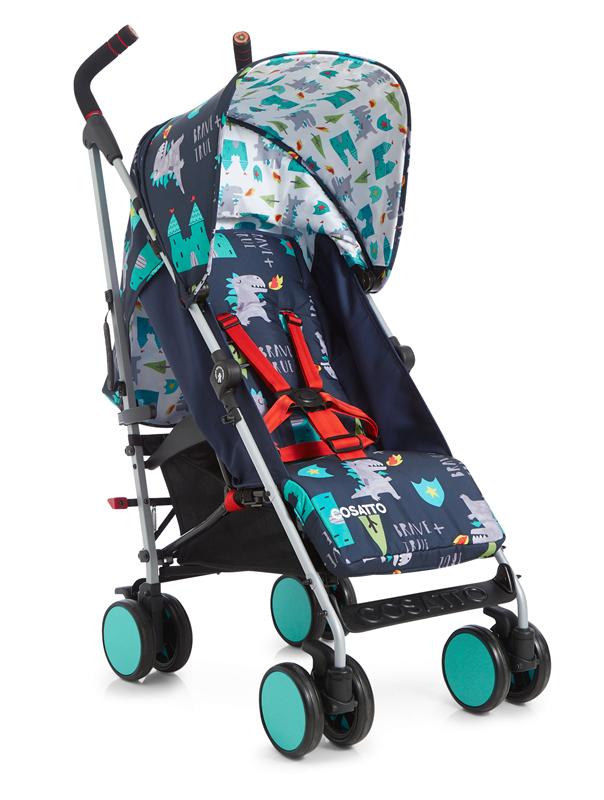 COSATTO - Прогулочная коляска – трость Supa Go2018, цвет DRAGON KINGDOM