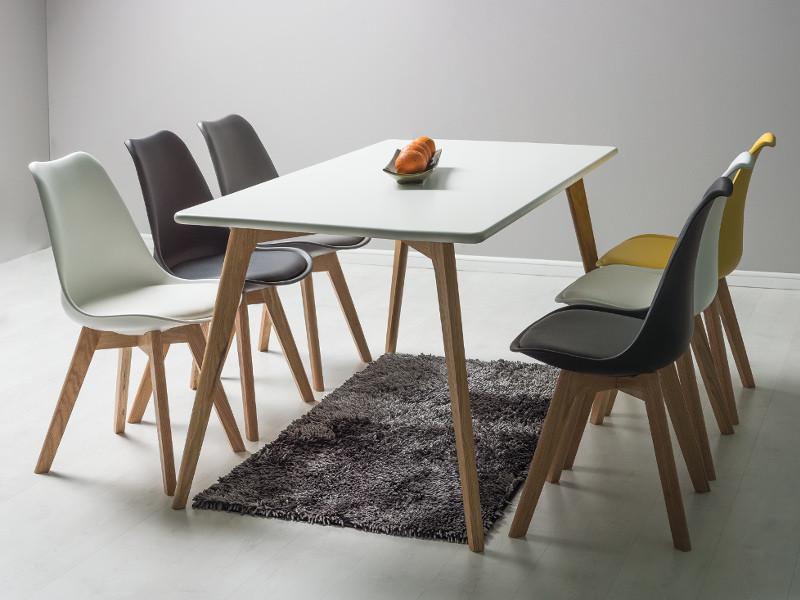 Стол обеденный деревянный Milan160 (Signal)