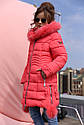 Пальто детское Кина для девочек-ТМ Nui Very Размер 116 122, фото 4