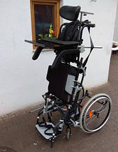 Б/У коляска Електрична вертикалізатор Permobil - Lifestand LSE Electric Standing Wheelchair 42cm