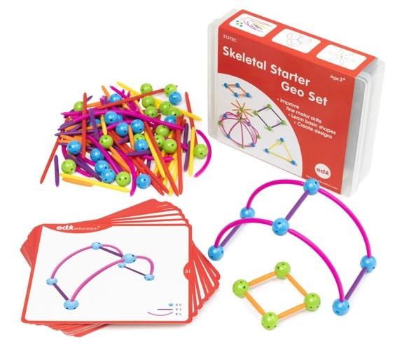 """Развивающий  конструктор  """"2D и 3D геометрия"""" EDX education 21372с"""