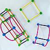 """Развивающий  конструктор  """"2D и 3D геометрия"""" EDX education 21372с, фото 7"""