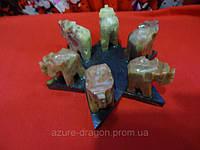 Подставка для благовоний слоники