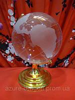Глобус стеклянный h=13см