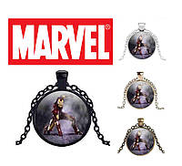 Кулон с Тони Старком Marvel