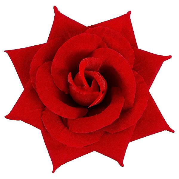 Роза бархат остроконечная, 15см (15 шт в уп)