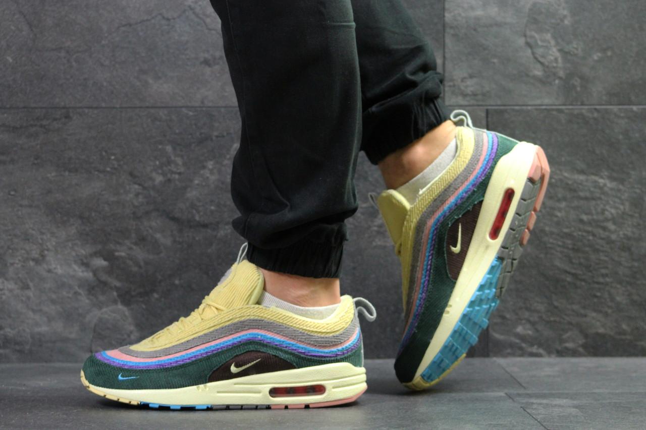 1c71f3b8aaa8ba Кроссовки мужские Nike Air Max 1/97 Vf Sw yellow - Интернет-магазин обуви