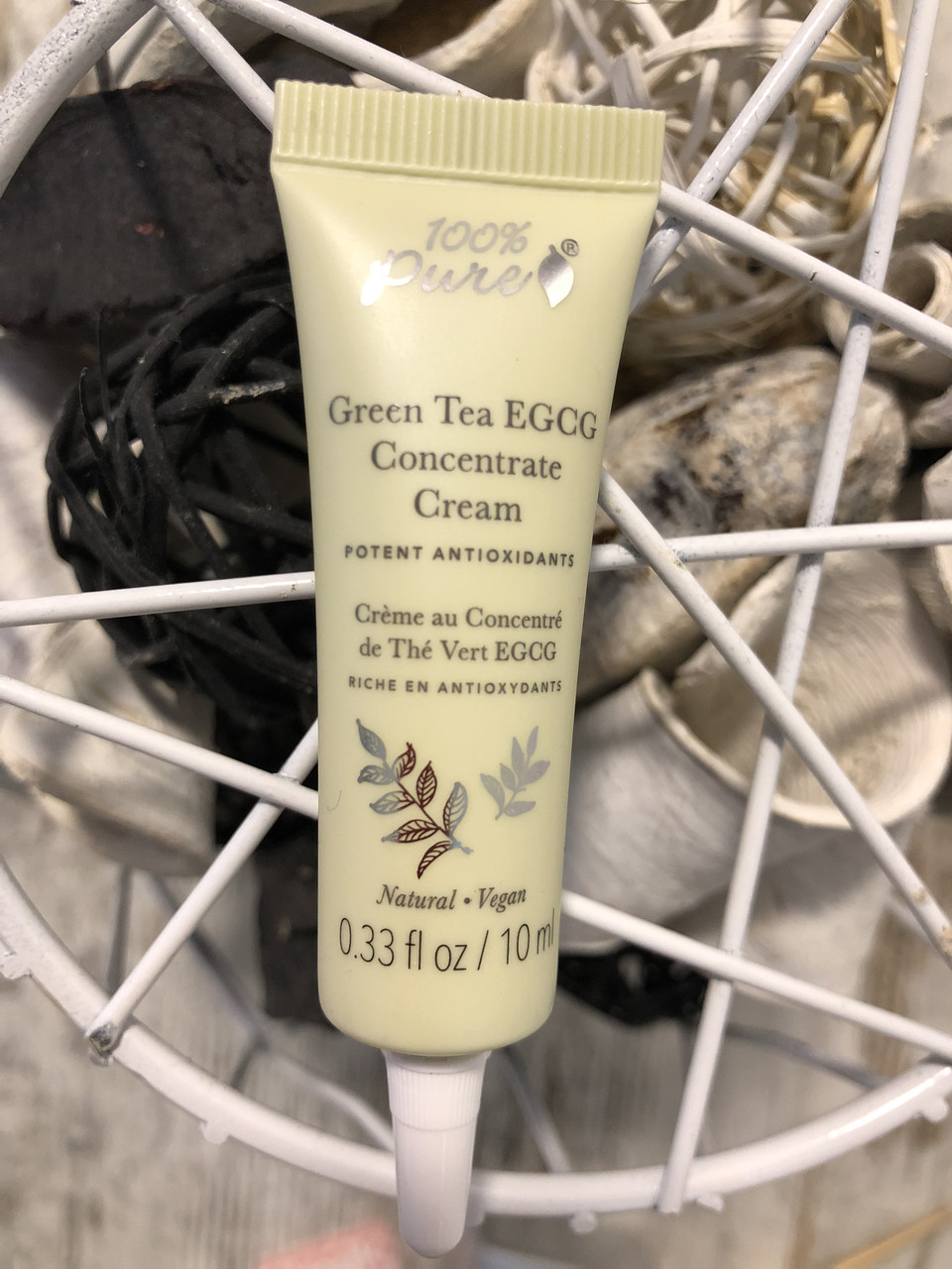 100%PURE Green Tea EGCG Concentrate Cream