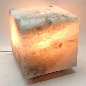 Соляний світильник Кубик - Куб середній