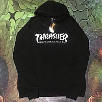 Худи мужская с принтом Thrasher & Huf Worldwide Толстовка