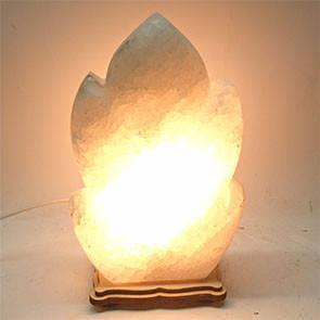 Соляной светильник - Лист резной