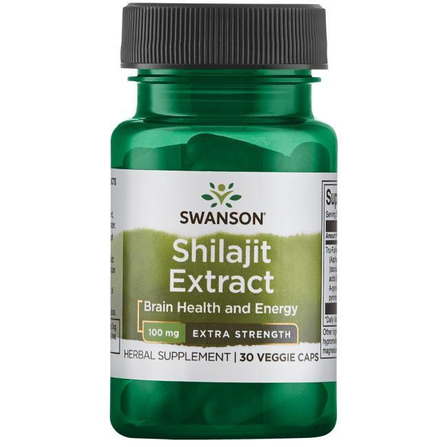 Мумиё - Шиладжит - Концентрированный Экстракт, 100 мг. 30 капсул