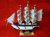 Кораблик белый Статуэтка