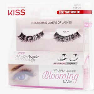 Супер легкие накладные ресницы с заостренными кончиками KISS Blooming Lash