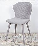 Обеденный стул VALENCIA (Валенсия) серый Nicolas (бесплатная доставка), фото 5