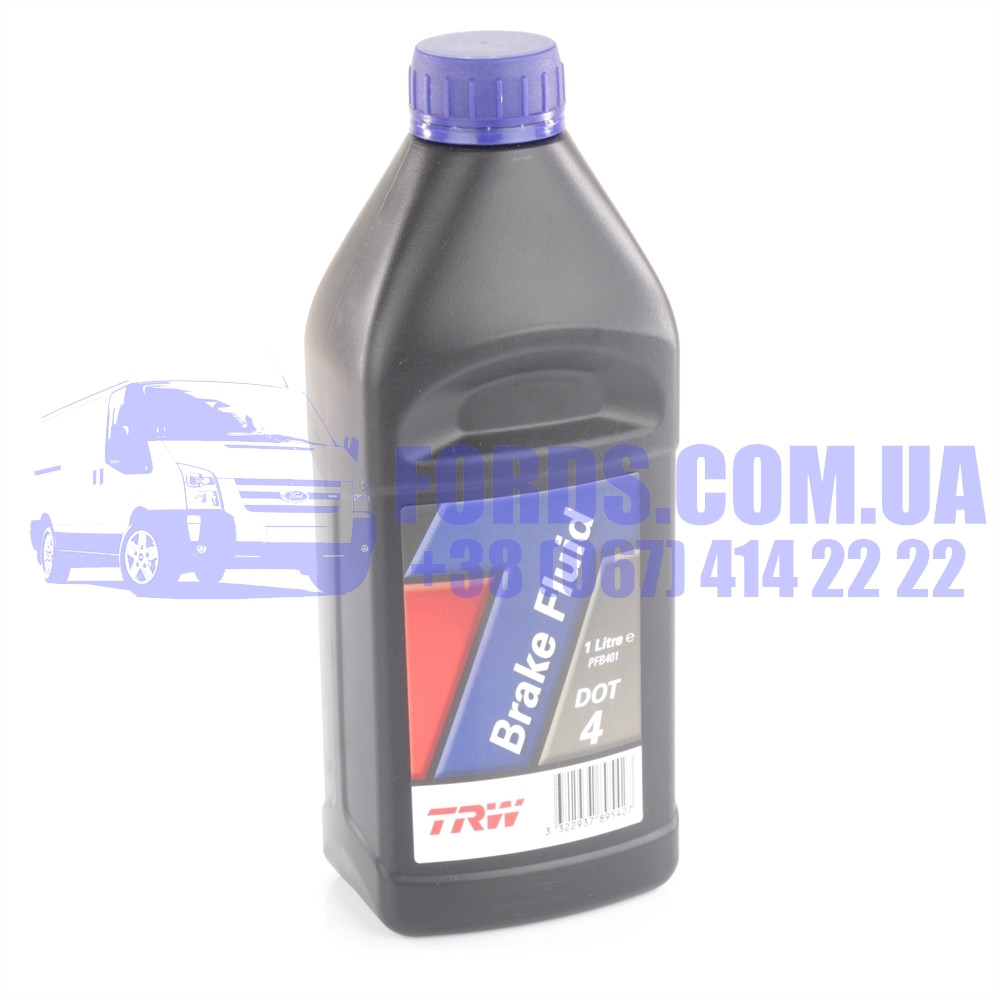 Тормозная жидкость DOT4 (1L) (1747692/BU7JM6C65C1A/DOT4) (1747692/BU7JM6C65C1A/PFB401) TRW