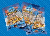 Азовский бычок солено-сушеный в упаковке (кусочки), 30 гр.