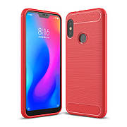 Чехол TPU на Xiaomi Redmi 6 pro / Mi A2 Lite Красный