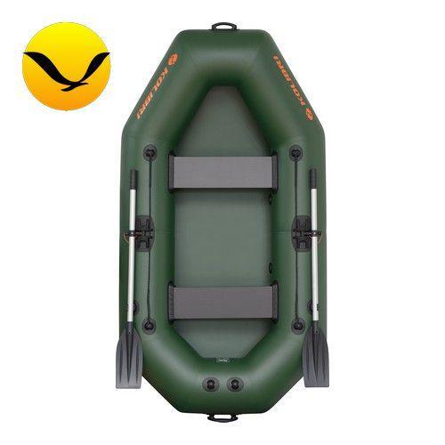 Надувная лодка Колибри К-240 (Kolibri K-240); 2-х местная. Гребная;