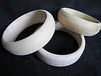 Браслет из дерева диаметр 7см, высота - 2-2,5см, (20\15) (цена за 1 шт. +5 грн.)