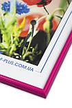 Рамка 30х40 из пластика - Розовый яркий, фото 2