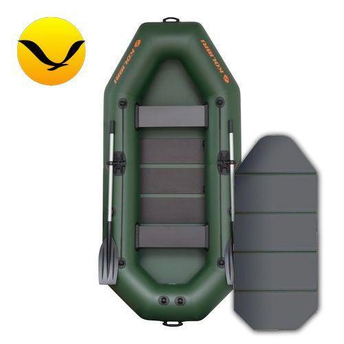 Надувная лодка Колибри К-280К (Kolibri K-280K); 2-х местная. Гребная ПВХ лодка;