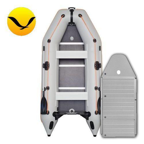 Лодка Kolibri KM-330DAl. Моторная, 3,30м, 4 места, 950/950 ПВХ, сдвижные сиденья, алюминиевое днище, килевая. Надувная лодка ПВХ Колибри КМ-330Дал;