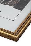 Рамка 30х40 из пластика - Золото, фото 2