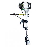 Мотор лодочный GrunWelt GW-140FC оригинал (подвесной, четырехтактный, 1,5 л. с.)