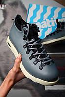 Зимние ботинки Native Fitzsimmons серые (реплика ААА+), фото 1