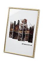 Рамка 30х40 из пластика - Золото глянец