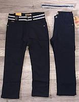 Котоновые брюки школьные утепленные на флисе для мальчиков,S&D,6,8,10,12 лет.