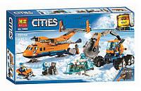 Конструктор Bela 10996 Город Арктический грузовой самолёт (аналог Lego City 60196)