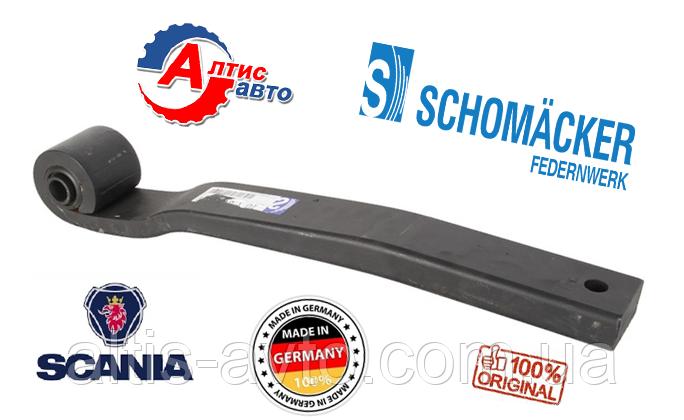 Рессора на Scania (коренной лист Schomaecker, оригинал)