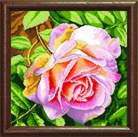 """Схема для вышивания бисером """"Благоухающая роза"""""""