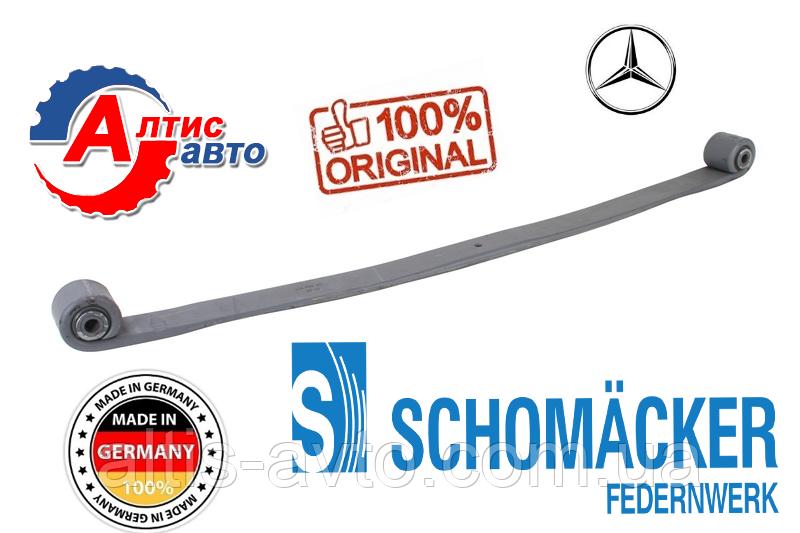 Коренной лист рессоры Mercedes Actros, Atego, Axor оригинал Шумахер усилиная