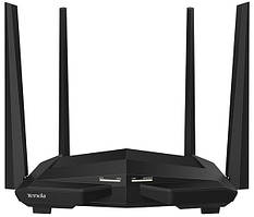 Маршрутизатор Tenda AC10U (1200Mbps Wi-Fi Router, 2.4GHz - 5GHz, 802.11 b,g,n,ac 3-port Switch)