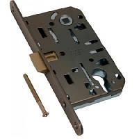 Механизм для межкомнатных дверей AGB EVO евро AN (ст.медь) под цилиндр
