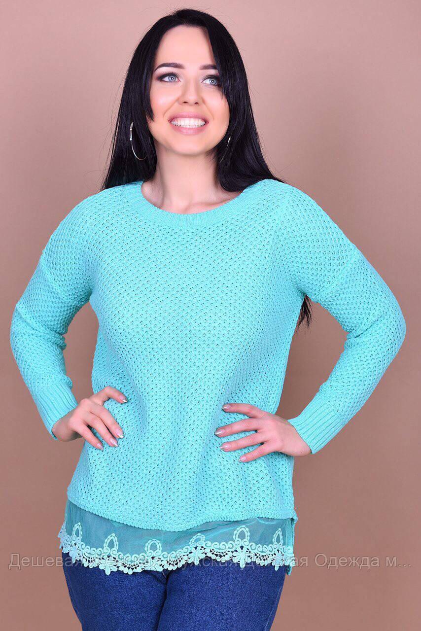 Жіночий светр в'язка оптом