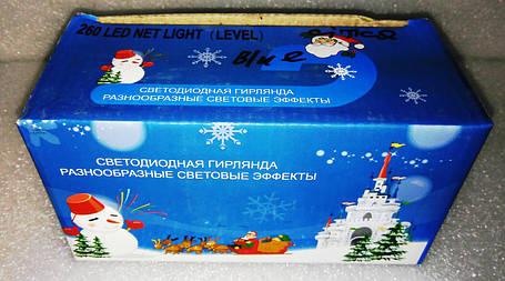 Сітка Level 400 LED 4.5 м Х 1 м, синя, фото 2