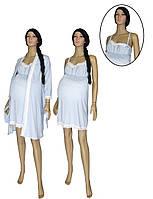 NEW! Ночная рубашка и халат с кружевом - предложение со скидкой для будущих мам от ТМ УКРТРИКОТАЖ!